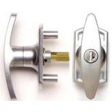 Henderson Locking T-Handle - Silver Finish - 31mm Spindle