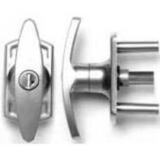 Henderson Merlin Locking T-Handle - Siliver Finish - 31mm Spindle