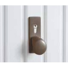 Hormann Up and Over Handle - Brown