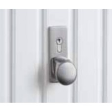 Hormann Up and Over Handle - Brushed Steel