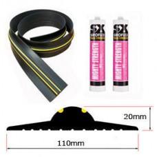 20mm Weather Stop Garage Door Floor Seal Kit (3749mm) 12ft 3in